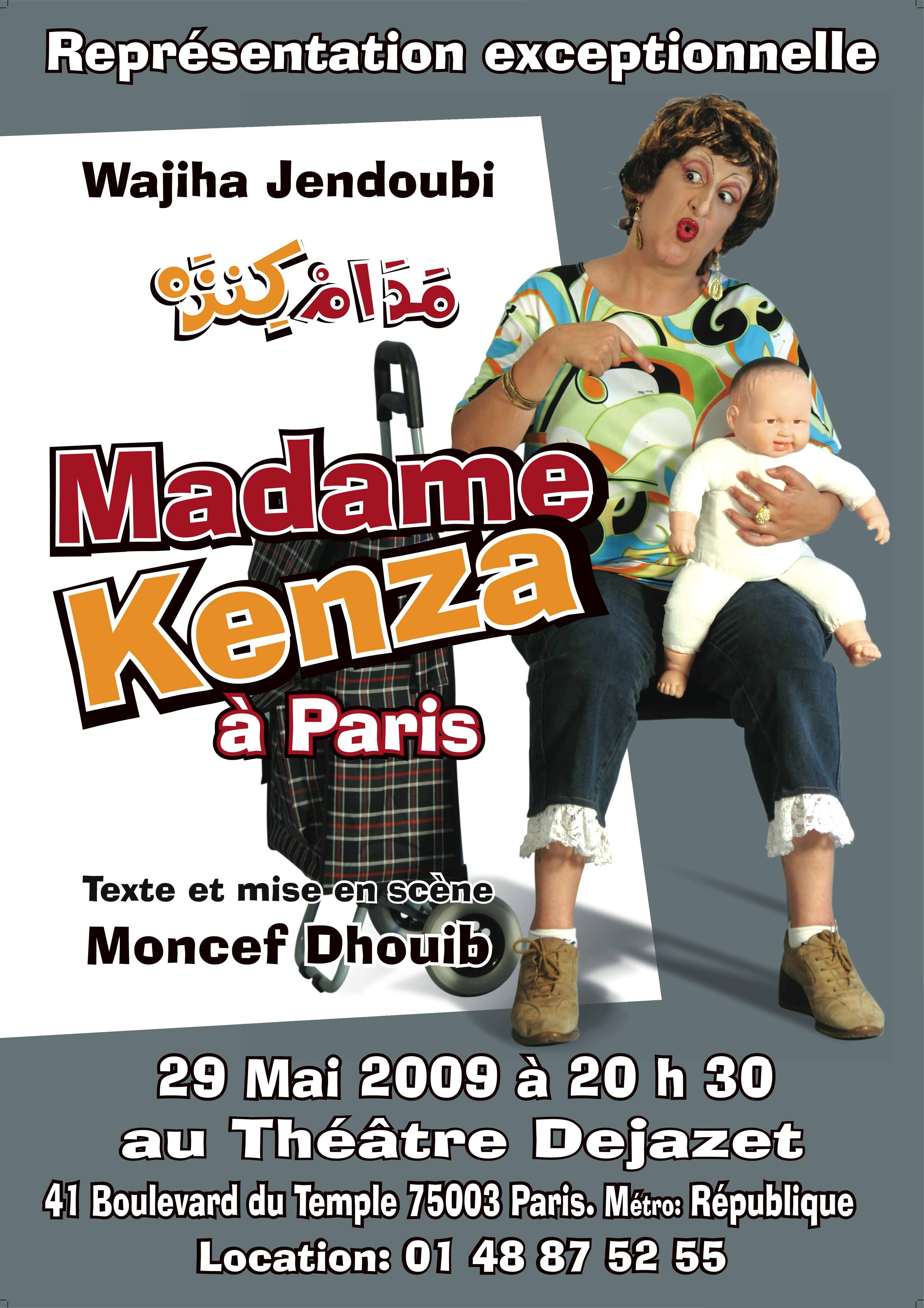 Madame Kenza à Paris