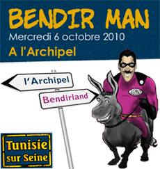Bendir Man à Paris