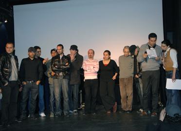 cinéastes tunisiens présents au Festival du Film Tunisien à Paris 2009